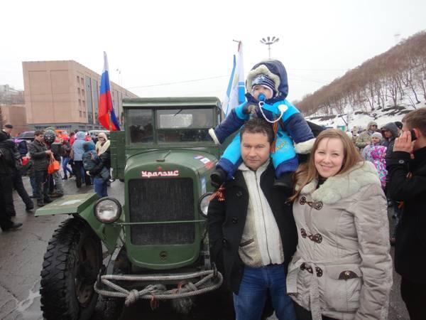 День Победы 9 мая 2013 Петропавловск-Камчатский